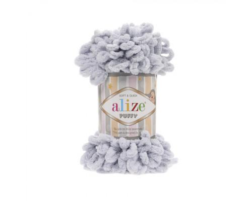 Пряжа Alize Puffy цвет 416