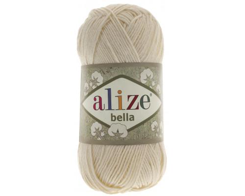 Пряжа Bella (Бэлла) 01 молочный