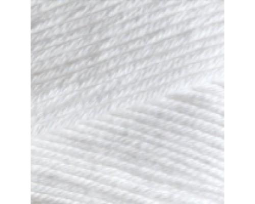 Пряжа Bella (Бэлла) 55 белый