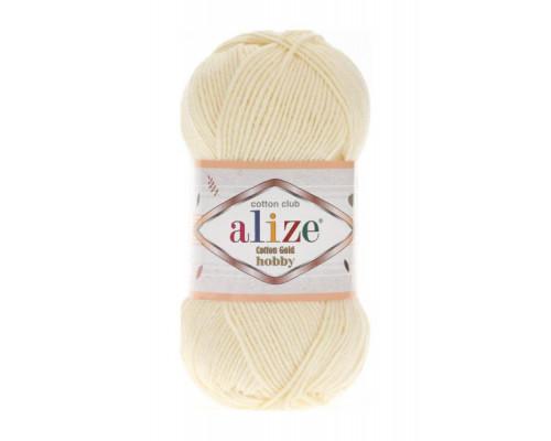 Пряжа Alize Cotton Gold Hobby 01