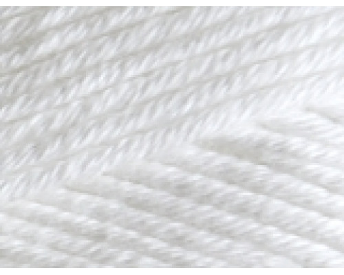 Пряжа Alize Cotton Gold Plus (Ализе Коттон Голд Плюс) 55 белый