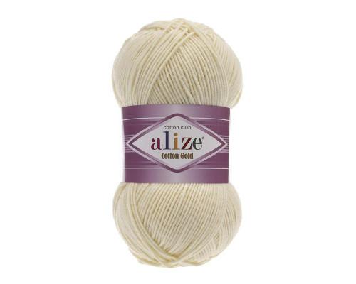 Пряжа Alize Cotton Gold (Ализе Коттон Голд) 01