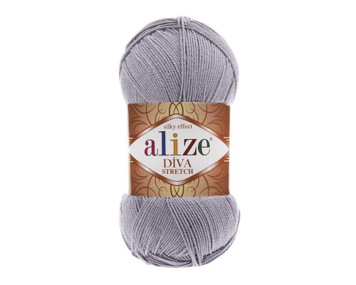Пряжа Alize Diva Stretch (Ализе Дива Стретч) 253