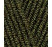 Пряжа Alize Lanagold Plus (Ализе Ланаголд Плюс) 214 (оливковый-зеленый)