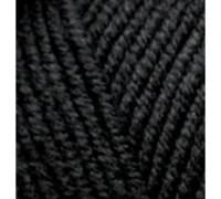Пряжа Alize Lanagold Plus (Ализе Ланаголд Плюс) 060 черный