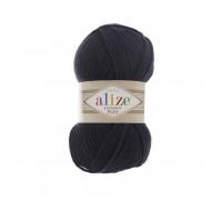 Пряжа Alize Lanagold Plus (Ализе Ланаголд Плюс) 58 т.синий