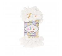 Пряжа Alize Puffy Color цвет 5794