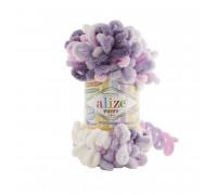 Пряжа Alize Puffy Color цвет 6305