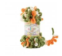 Пряжа Alize Puffy Color цвет 6396