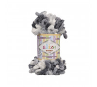 Пряжа Alize Puffy Color цвет 5925