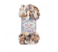 Пряжа Alize Puffy Color цвет 5926