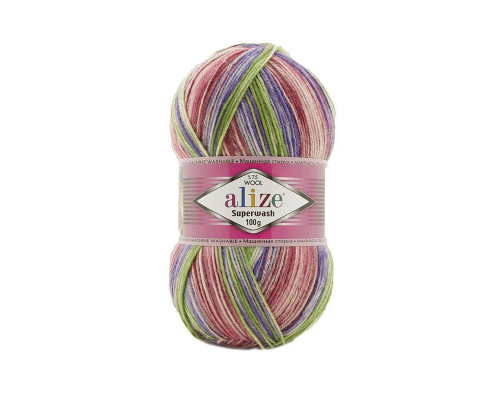 Пряжа Alize Superwash 100, 7220