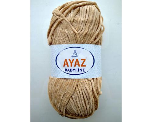 Пряжа Ayaz BabyFine ( Айаз Бэбифайн) 1219 светло-бежевый