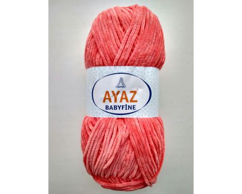 Пряжа Ayaz BabyFine ( Айаз Бэбифайн) 3246 коралл