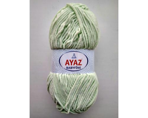 Пряжа Ayaz BabyFine ( Айаз Бэбифайн) 3587 ментол