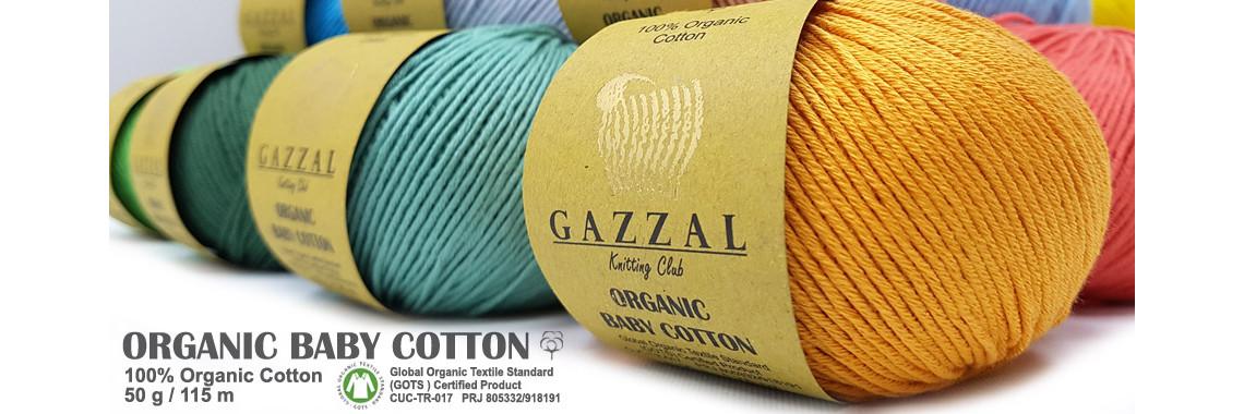 Новинка! Gazzal Organic Baby Cotton по суперцене 93РУБ.