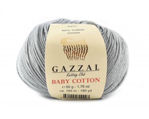 Пряжа Gazzal Baby Cotton 3430