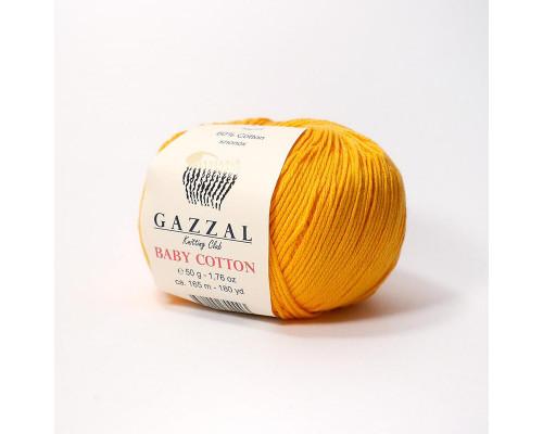 Пряжа Gazzal Baby Cotton 3416