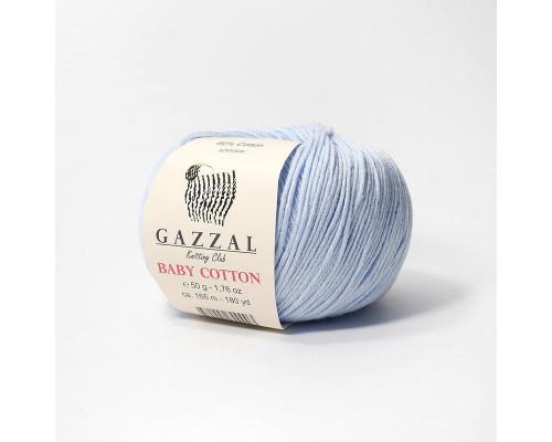 Пряжа Gazzal Baby Cotton 3429