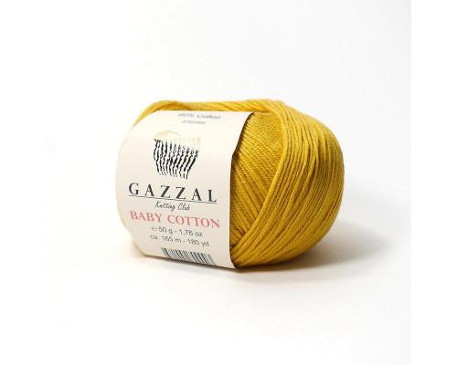 Пряжа Gazzal Baby Cotton 3447
