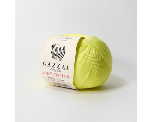 Пряжа Gazzal Baby Cotton 3462