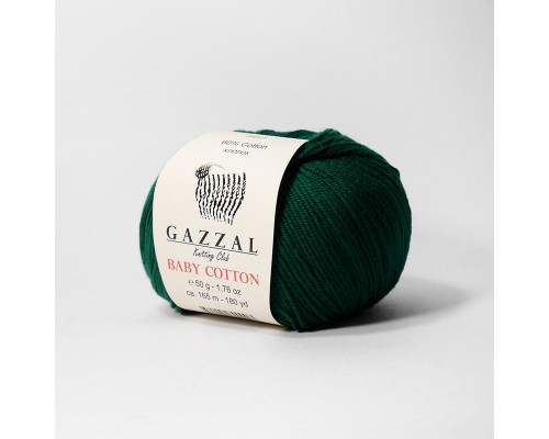 Пряжа Gazzal Baby Cotton 3467