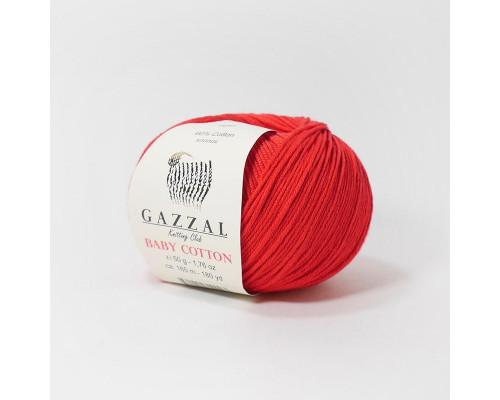 Пряжа Gazzal Baby Cotton 3443