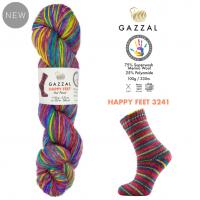 Пряжа Gazzal Happy Feet, 3241