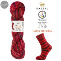 Пряжа Gazzal Happy Feet, 3246