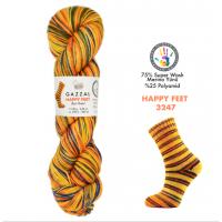 Пряжа Gazzal Happy Feet, 3247