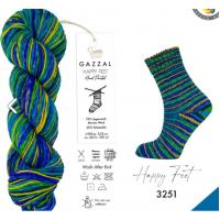 Пряжа Gazzal Happy Feet, 3251