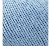 Пряжа Gazzal Organic Baby Cotton 423 голубой