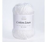 Пряжа INFINITY Cotton linen, 1002