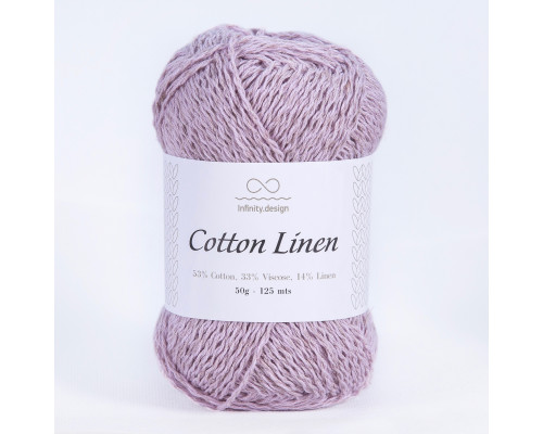 Пряжа INFINITY Cotton linen, 4612