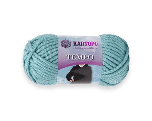 Пряжа KARTOPU Tempo 435 ментол