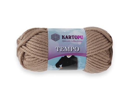 Пряжа KARTOPU Tempo 886 какао