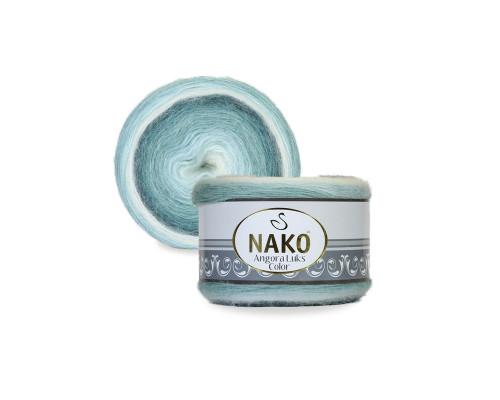 Пряжа NAKO Angora luks color, 82362