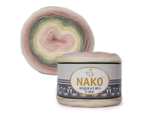 Пряжа NAKO Angora luks color, 81904