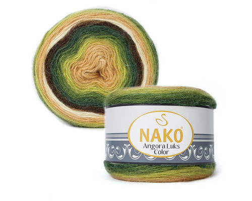 Пряжа NAKO Angora luks color, 81905
