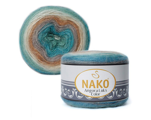 Пряжа NAKO Angora luks color, 81906