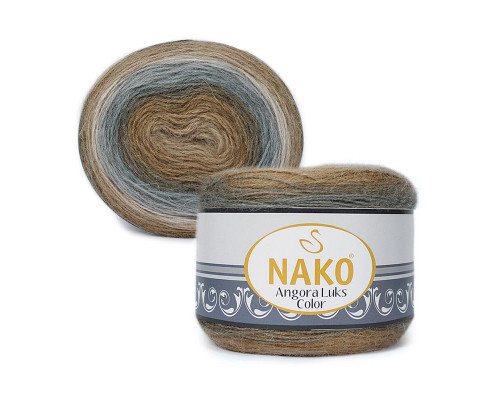 Пряжа NAKO Angora luks color, 81907