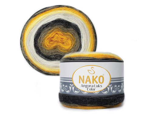 Пряжа NAKO Angora luks color, 81908