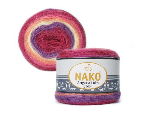 Пряжа NAKO Angora luks color, 81917