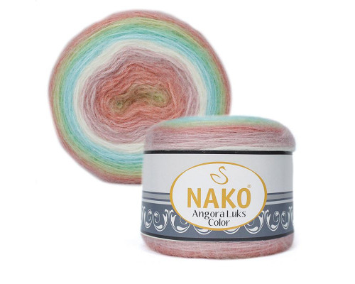 Пряжа NAKO Angora luks color, 81919