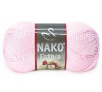 Пряжа Nako Estiva 4857 св.розовый