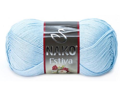 Пряжа Nako Estiva 6952 св.голубой