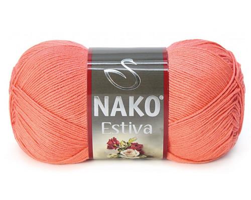 Пряжа Nako Estiva 3278 мандарин