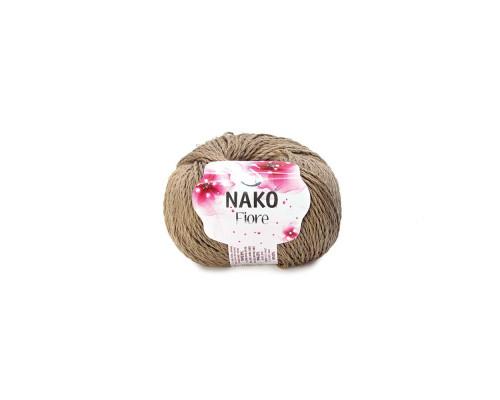 Пряжа Nako Fiore 11237 бежевый