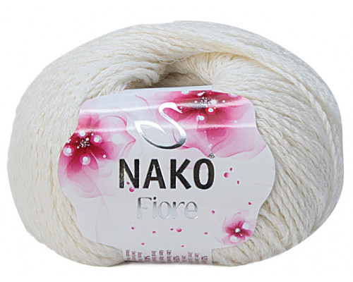 Пряжа Nako Fiore 2378 ваниль