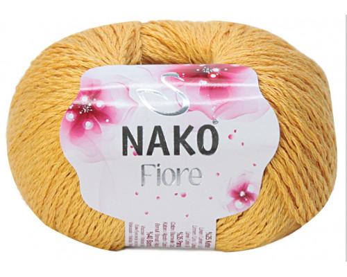 Пряжа Nako Fiore 11243 желтый